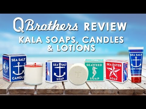 Q Brothers Review Kala Soaps, Candles, & Lotion