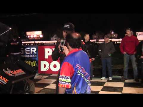 Port Royal Speedway All Star Sprint Car Victory Lane 04-23-16