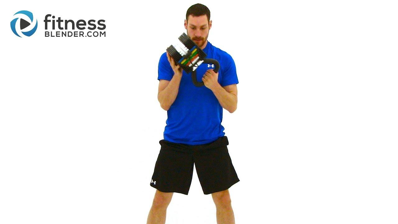 Intermediate Kettlebell HIIT Workout
