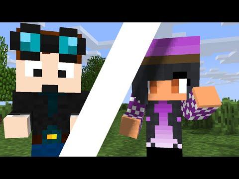 Girl Vs. Boy - Minecraft Animation (dantdm, Aphmau, Crafting, Fighting, Thediamondminecart)