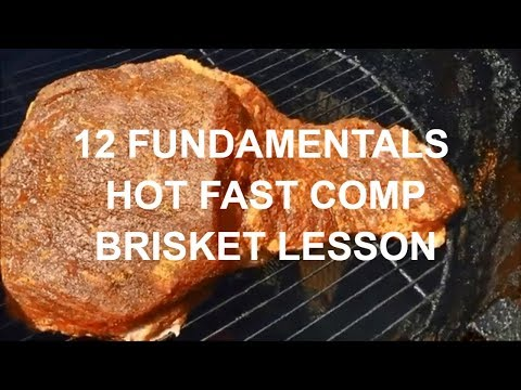 12 Hot And Fast Competition Brisket Fundamentals By BBQ Champion Harry Soo InstaPot How-to Pitmaster