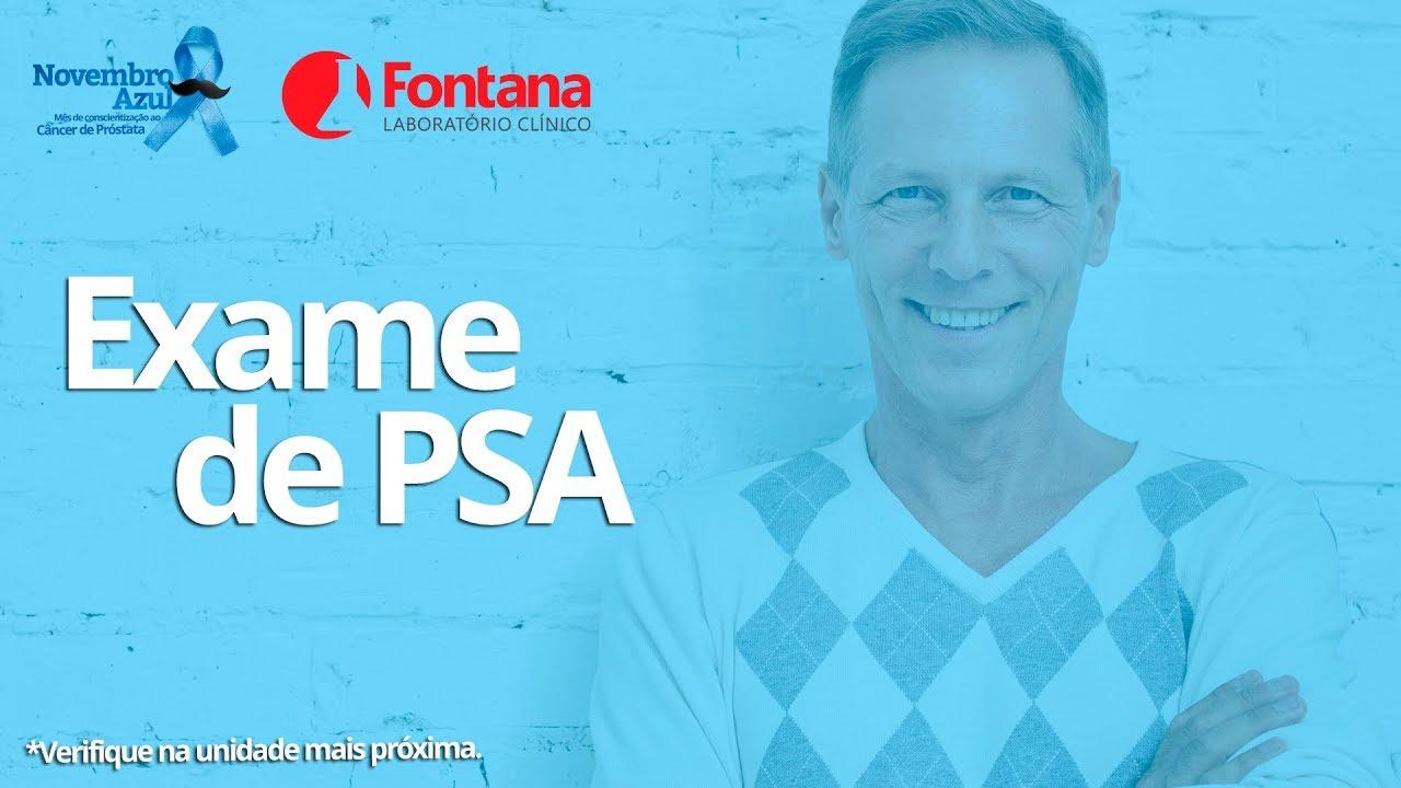 exame psa cancer de prostata