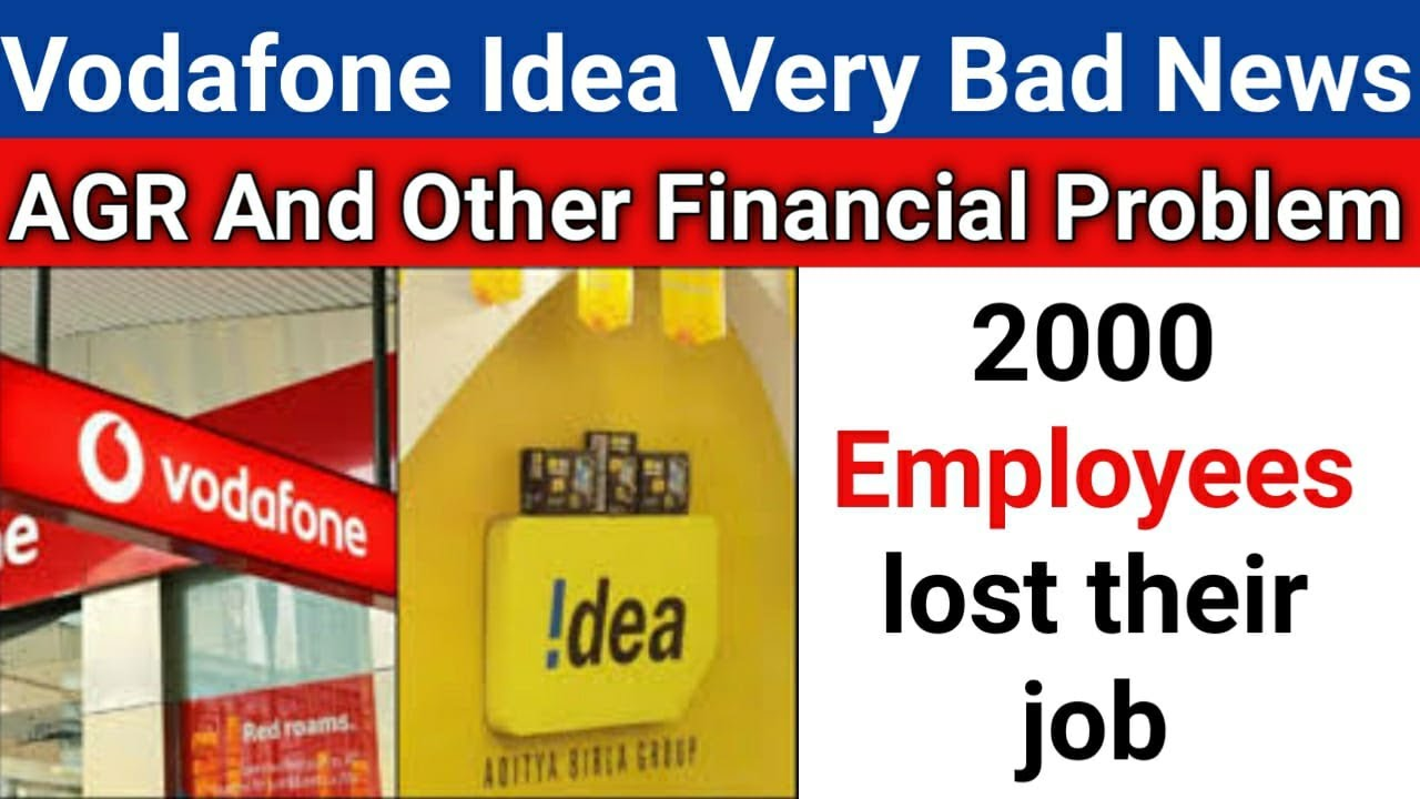 Vodafone Idea Very Bad News | AGR Problem And Other Problem | VIL Cost Cutting