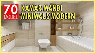 70 Model Kamar Mandi Minimalis Moderen Nan Mewah Terbaru