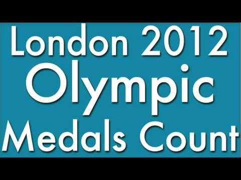 2012 Olympic Medal Count