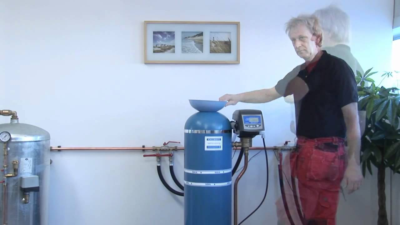 Icke gamla Callidus Vattenfilter - Fylla på Filtermaterial - YouTube US-24
