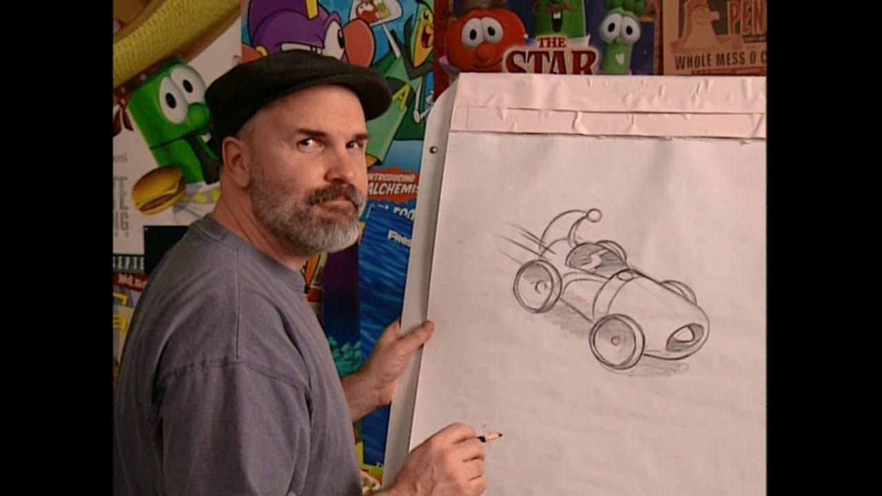 How To Draw Larry Boy