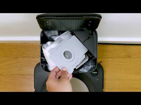 Roomba s9+ (Ako vymeniť vrecko v stanici Clean Base)