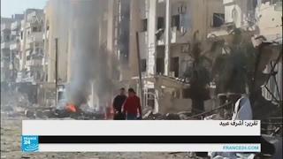 النظام السوري يقصف مواقع المعارضة ويتقدم على حساب تنظيم
