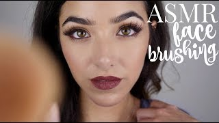 Video ASMR Face Brushing (With Brushing Sounds!! + Breathing sounds) download MP3, 3GP, MP4, WEBM, AVI, FLV November 2017