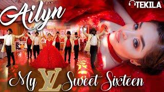AILYN SWEET SIXTEEN HIGHLIGHTS | WALTZ SURPRISE DANCE BACHATA REGGAETON HIP HOP BANDA DJ TEKILA NYC YouTube Videos