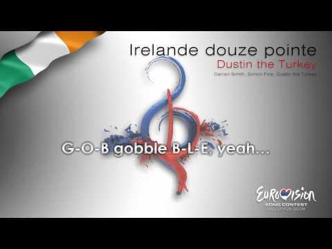 "Dustin the Turkey - ""Irelande Douze Pointe"" (Ireland) - [Karaoke version]"