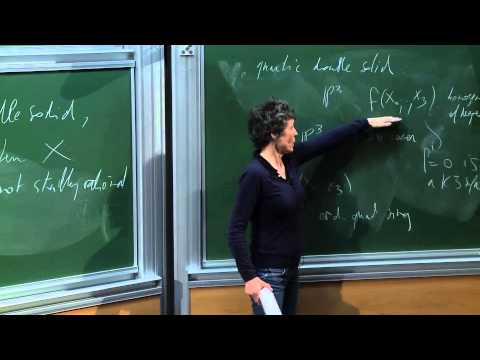 Claire Voisin - Universal Chow group of 0-cycles and stable rationality