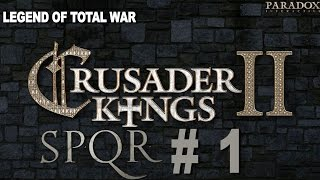 Crusader Kings 2: Ironman SPQR Achievement Challenge Part 1