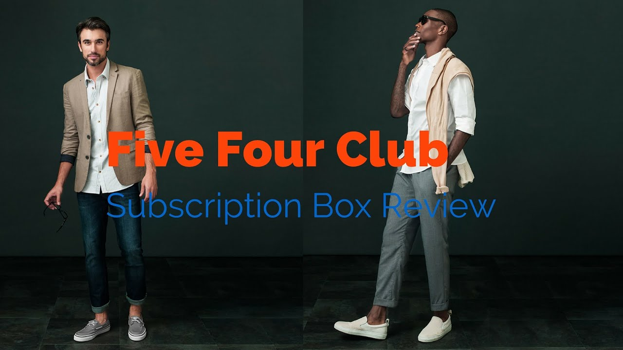 60 a month quality clothes delivered to your door five four club review youtube. Black Bedroom Furniture Sets. Home Design Ideas