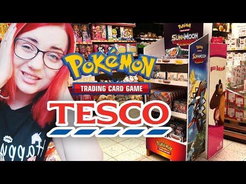 WOW! Karty POKEMON w TESCO - Sprawdzam co dokładnie można kupić