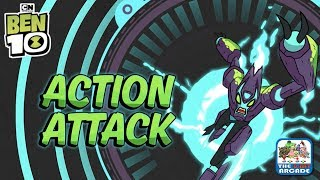 Ben 10 Omnitrix Glitch: Action Attack - Choose the Right Action in Time (Cartoon Network Games)