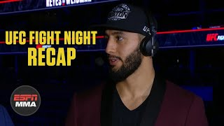 Dominick Reyes wants title fight vs. Jon Jones next | UFC Post Show | ESPN