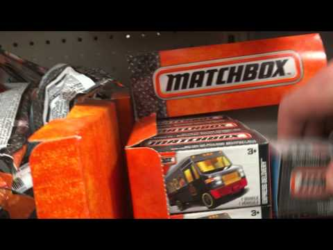 Toys R Us ISM: New Matchbox Cars In Matchboxes!