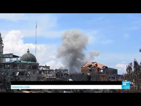 Philippines; Planes Pummel Marawi With Bombs As Street Fighting Continues With ISIS Sympathizers