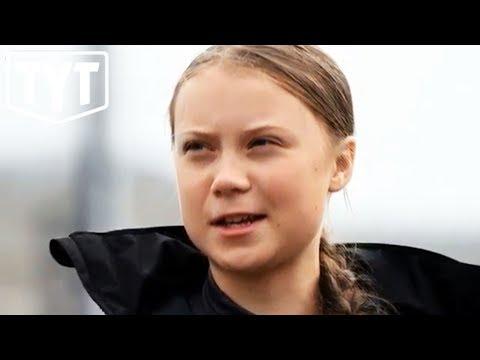 Greta Thunberg Melts MAGA Snowflakes