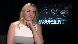 Kate Winslet Talks 'Insurgent', Danny Boyle's 'Steve Jobs' Movie, and More