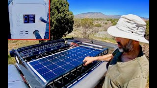 Living In A 4x4 Truck: New Solar/battery Bank, Coyote And Badger Traveling Together, New Drone!