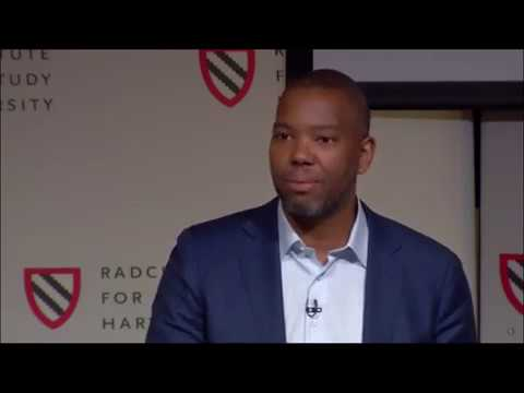 "Ta Nehisi Coates speaks at the Harvard ""Universities and Slavery"" conference"