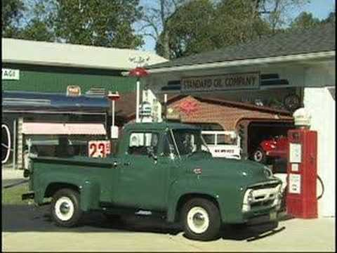 1956 ford f 100 original fly in cruise in youtube. Black Bedroom Furniture Sets. Home Design Ideas