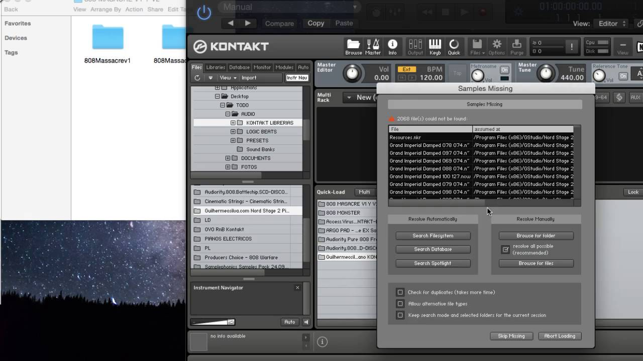 KONTAKT: HOW TO LOAD UNOFFICIAL LIBRARIES