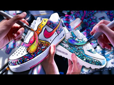 My CUSTOM SHOE Collection !! 👟🎨 (iNsAnE)