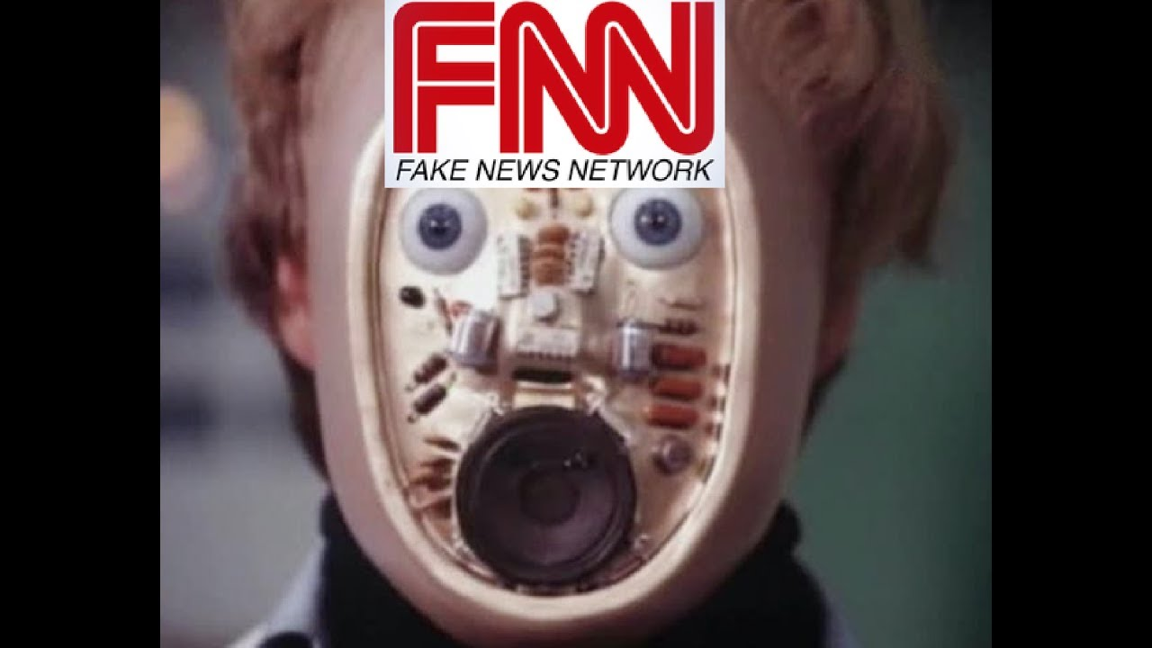 Cnn Is Fake News Meme President Donald Trump Six Million Dollar Man Vs Robot