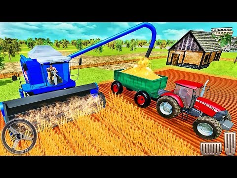 Farming Tractor Simulator 2019 - Real Tractor Farmer - Android GamePlay #3