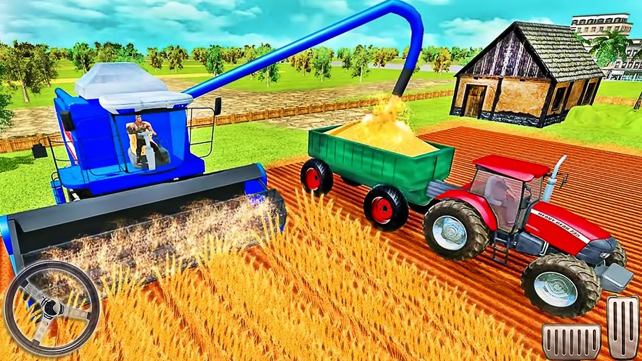 Farming Tractor Simulator 2019 Real Tractor Farmer