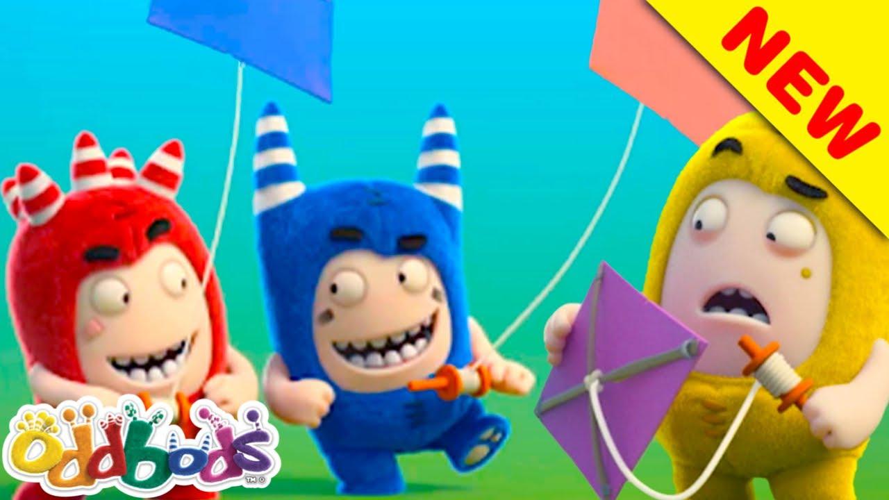 Gli Oddbods Sono Portati Via Dal Freddo Vento Autunnale | Oddbods | Cartoni Animati per Bambini