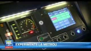 Metrou Stiri - Ajustarea peroanelor si gabaritul trenurilor CAF