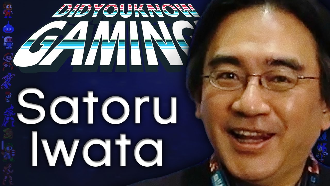 Satoru Iwata: CEO, Game Developer, Gamer - Did You Know Gaming? Feat. Furst