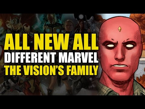 The Vision's New Family of Killers (ANAD Vision Vol 1: Little More Than A Man)