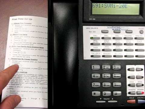 idcs training 8 voicemail setup avi youtube rh youtube com samsung idcs 28d programming guide samsung idcs 28d keyset user guide