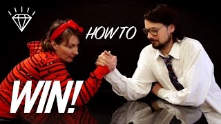 How to Win at Arm Wrestling - 5 Secret Tips! (Satire)