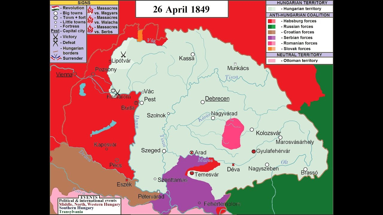 The Hungarian Revolution and War of Independence of 1848 1849