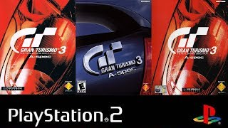 Gran Turismo 3 A-Spec All intros (NTSC-J, NTSC-U, PAL)