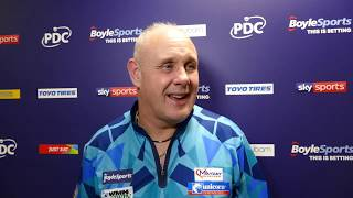 Ian White RELIEVED to progress to GSoD knockout stage for first time in his career