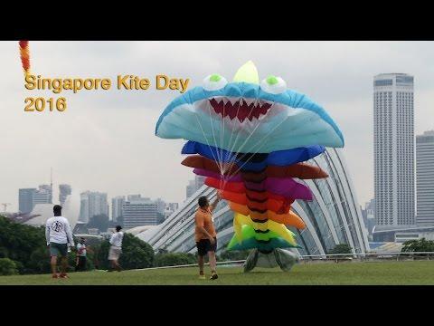 Singapore Kite Day At Marina Barrage