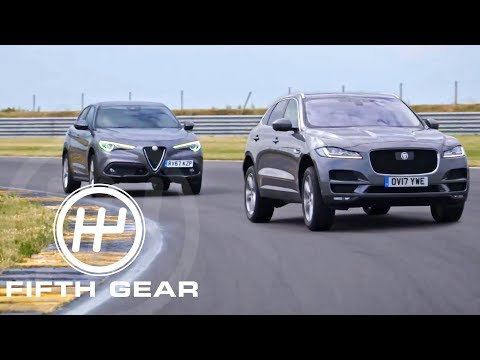 Fifth Gear: Shoot Out Jaguar F-Pace Vs...