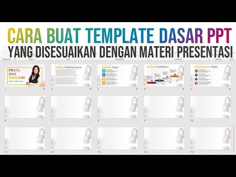 Cara Membuat Template PPT yang Disesuaikan dengan Topik Materi Presentasi