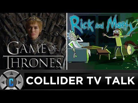 Game of Thrones Season 7 Promo, Rick and Morty Season 3 Premiere - Collider TV Talk