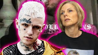 Mom REACTS to Lil Peep - 4 GOLD CHAINS ft. Clams Casino (Official Video)