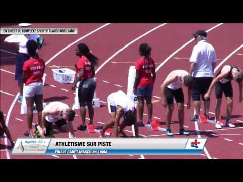 Jeux du Quebec 2016 Athletisme 2016 07 22 Courses