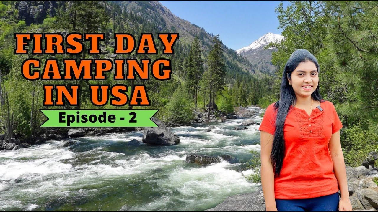 Download 🏕காட்டுக்குள் வாழும் எங்கள் முதல் அனுபவம்   Adventure Thrill Begins  Forest Camping   USA Tamil VLOG